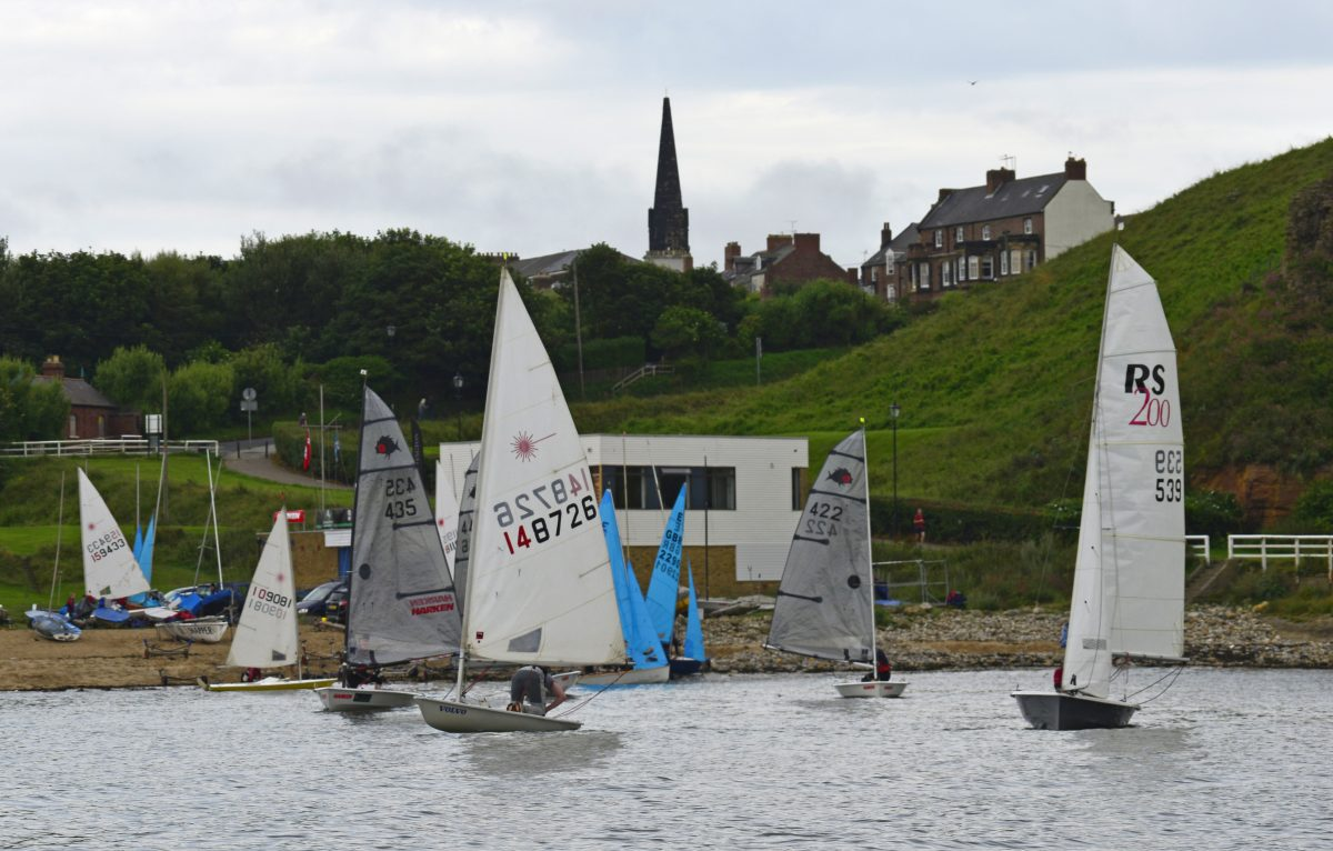 Learn to sail at tynemouth dinghy sailing club races Wednesday and sunday